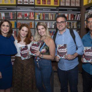 """Lanzamiento de """"Lucros de Sangue"""" en Río de Janeiro con Rodrigo Pimentel"""