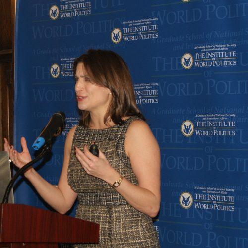 Talk at Institute of World Politics, Washington, D.C.  Dec 5, 2017