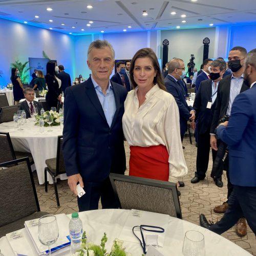 Mauricio Macri y Vanessa Neumann