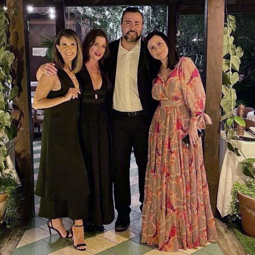 Vanessa Neumann, Katherine Hernández, Edgard, Gutiérrez, y Carla Angola.